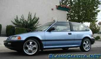 SlamdDakotas 1990 Honda Civic Hatchback photo thumbnail