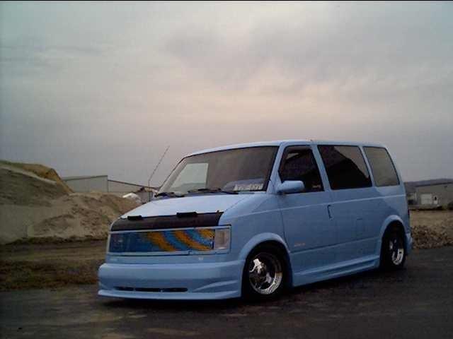 LowASTROs 1985 Chevy Astro Van photo
