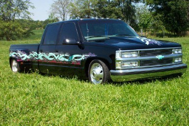 drop yourss 1997 Chevy Dually photo
