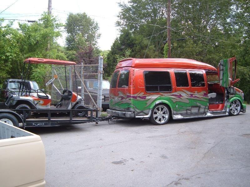 Nikenights 1999 Chevy Van photo