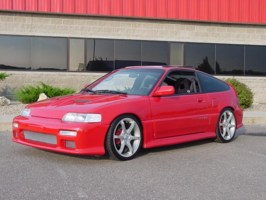 HOFFYs 1991 Honda CRX photo thumbnail