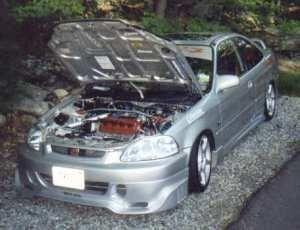 PimpCivicExs 1996 Honda Civic photo