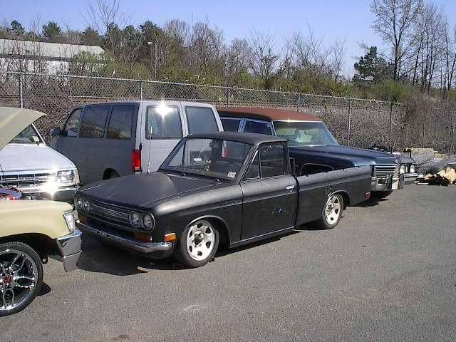 DRGNDOORs 1971 Datsun 521 photo