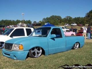 dropped fords 1993 Ford Ranger photo