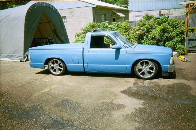 nvrtolo4mes 1988 Chevy S-10 photo