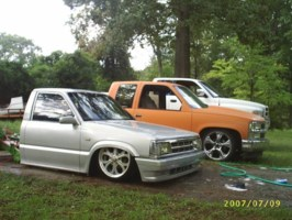 low mazdas 1991 Mazda B2200 photo thumbnail