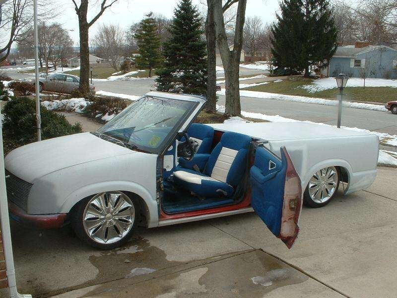 Shaved S 10s 1996 Chevy S-10 photo