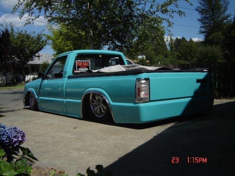 hutchs 1991 Mazda B2200 photo