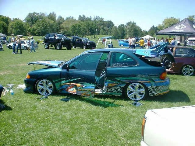 fene801s 1996 Hyundai Accent photo