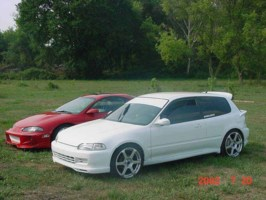 2SLO4ACIVICs 1993 Honda Civic Hatchback photo thumbnail