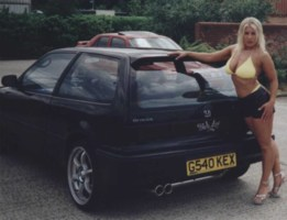 bad boy civics 1990 Honda Civic Hatchback photo thumbnail