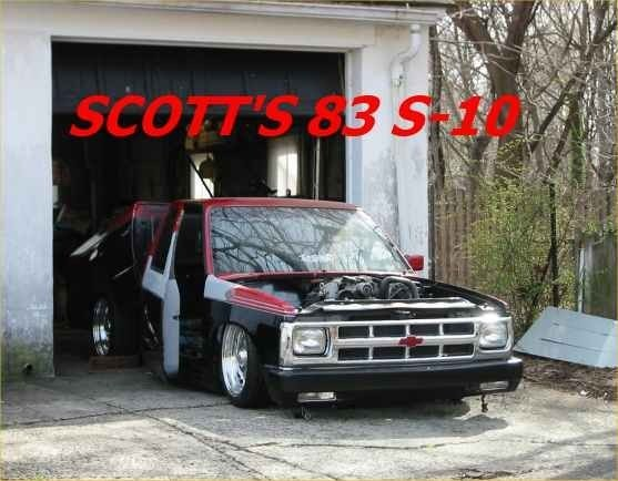 built to drags 1983 Chevy S-10 photo