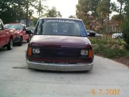 bodydropped95s 1988 Chevy Astro Van photo thumbnail