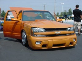 ORNGS10SUBCULTUREs 1985 Chevy S-10 photo thumbnail