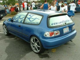 drvndalycrxs 1993 Honda Civic Hatchback photo thumbnail