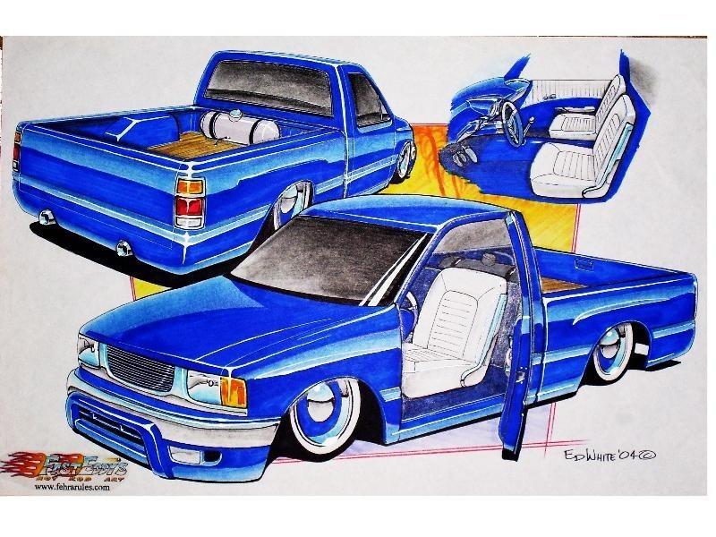 iamagearheadrus 1990 Toyota Pickup photo