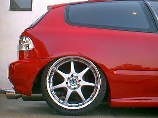 tuckin18ss 1993 Honda Civic Hatchback photo