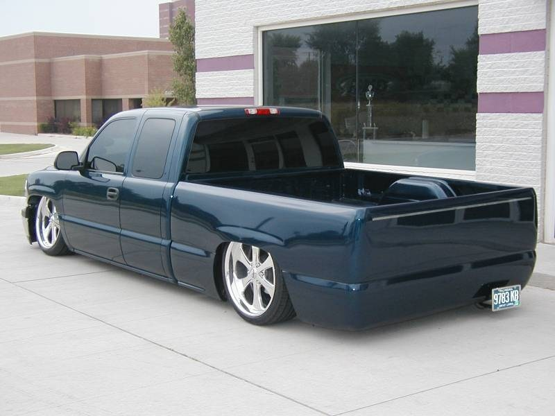 Draggin02on22s 2002 Chevrolet Silverado photo