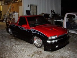 draggin plastics 1999 Chevy S-10 photo thumbnail