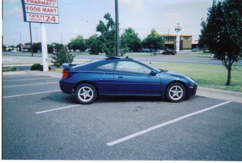 Girl Peteys 2002 Toyota Celica photo