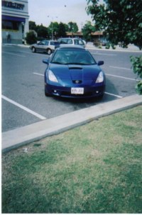 Girl Peteys 2002 Toyota Celica photo thumbnail