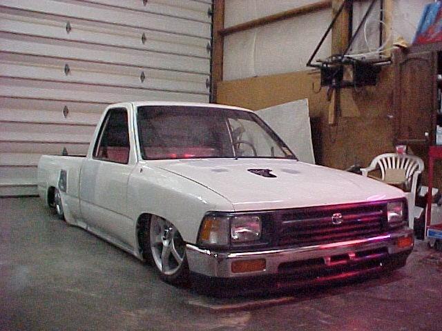 92bodydropedyotas 1992 Toyota 2wd Pickup photo