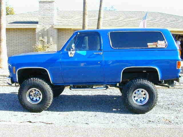 achevyabove38ss 1974 Chevy K5 Blazer photo