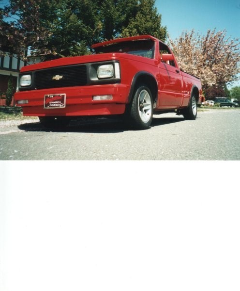RED91S10s 1991 Chevy S-10 photo