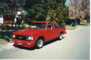 RED91S10s 1991 Chevy S-10 photo thumbnail