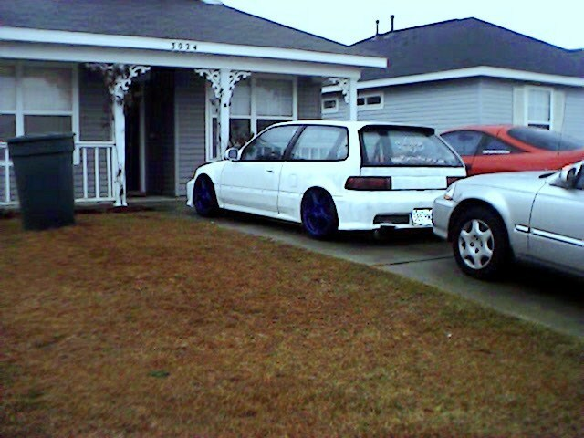 CivicHBonairs 1991 Honda Civic Hatchback photo