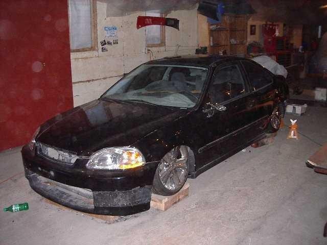 get real tuk wheels 1997 Honda Civic photo
