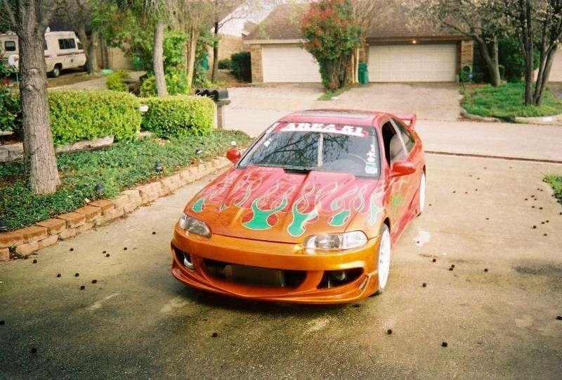 COONASS ALs 1993 Honda Civic photo