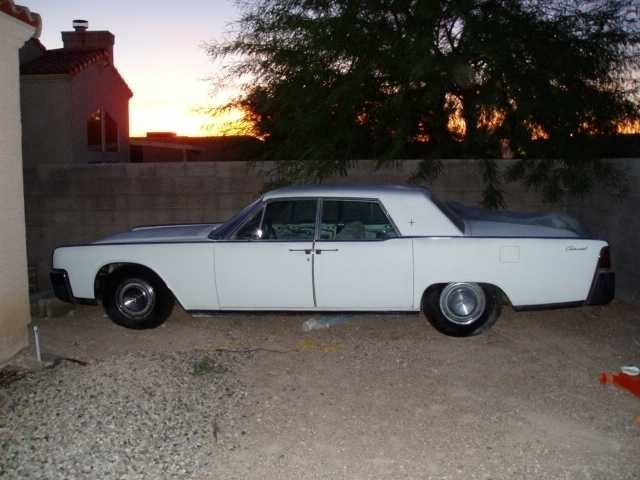 9digits 1964 Lincoln continental photo