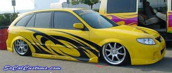 hcrmotorsportss 2002 Mazda Protege 5 Wagon photo