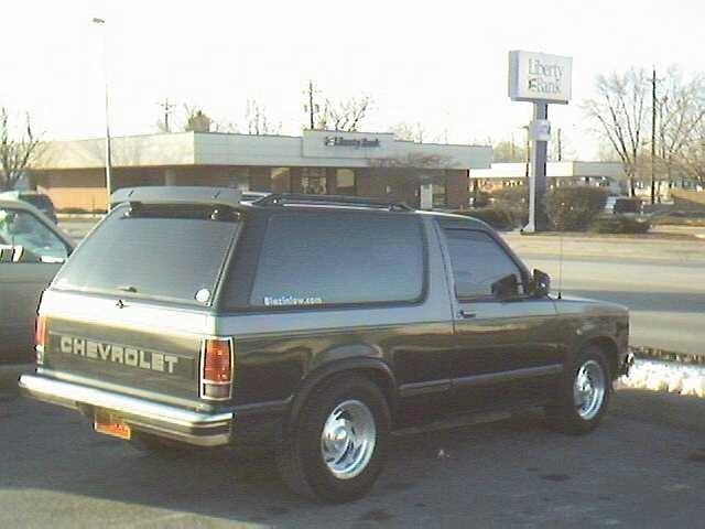 WCKDSTYLZEs 1987 Chevrolet Blazer photo