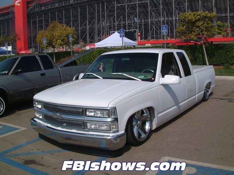 layin outs 1997 Chevrolet Silverado photo