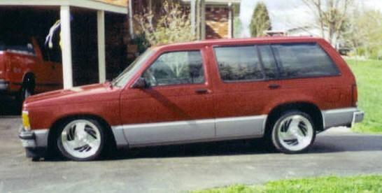 mpedblazes 1994 Chevy S-10 Blazer photo