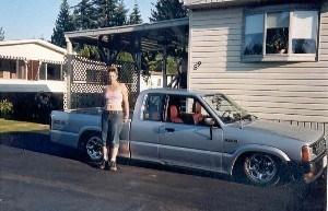 girlscanroll2s 1987 Mazda B2000 photo
