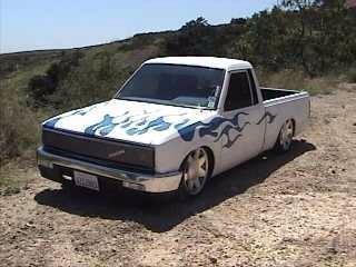 S K LAID 720s 1985 Nissan  720 photo