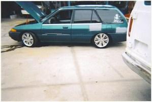 1twztdwagons 1995 Ford Escort photo thumbnail