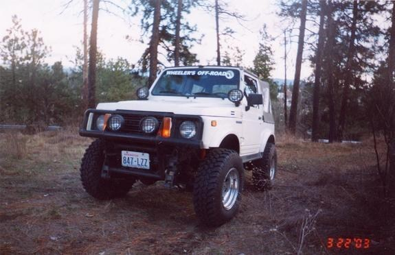 speaks4itselfs 1987 Suzuki Samurai photo