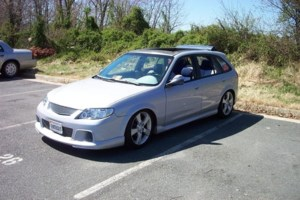 LOTEGE5s 2002 Mazda Protege 5 Wagon photo thumbnail