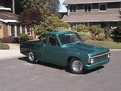 dragtruckins 1974 Ford Courier photo