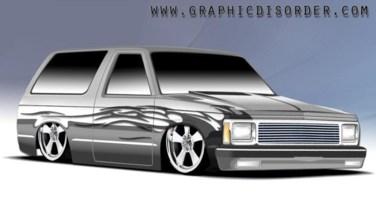 GROUNDEDNCs 1985 Chevy S-10 Blazer photo thumbnail