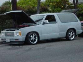 Trigga187s 1985 Chevy S-10 Blazer photo thumbnail