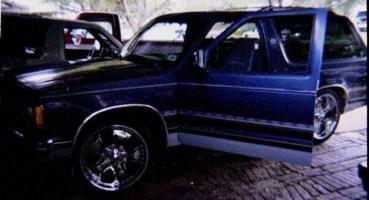 12secs10s 1989 Chevrolet Blazer photo thumbnail