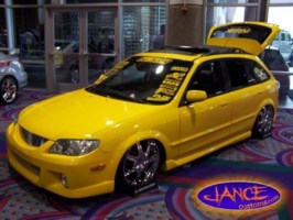 GALAXIEONDUBSs 2002 Mazda Protege 5 Wagon photo thumbnail