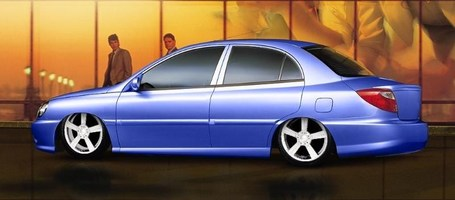SycksGirls 2002 Kia Rio photo thumbnail