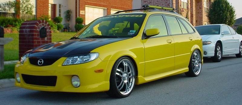 Piranas 2002 Mazda Protege 5 Wagon photo