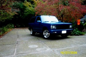 FRITZTHECATs 1990 Chevy S-10 Blazer photo thumbnail